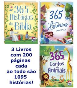 365 Histórias Com Moral, Bíblicas E Contos De Animais