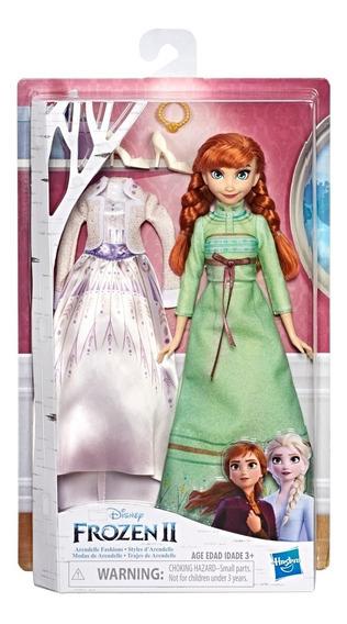 Muñeca Disney Frozen Moda Arendelle Hasbro E5500 Elsa Ana