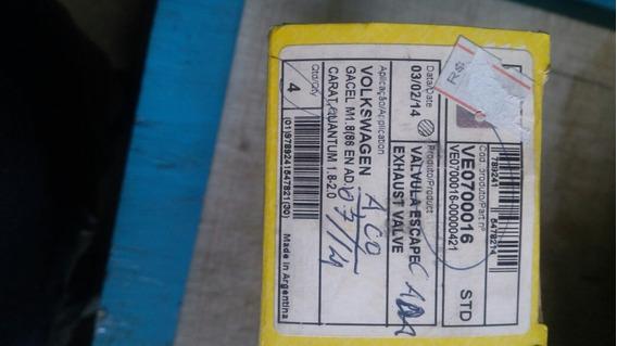Jogo Valvula Escap Ford/vw 1.8/2.0 Ve0700016 Mahle C/4