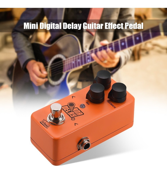 Twinote Ana Delay Mini Digital Atraso Guitarra Pedal Efeito