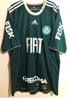 Camisa Do Palmeiras Usada Jogo 2011 Octacampeão Brasileiro