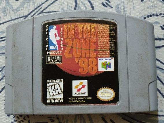 N-64: Nba In The Zone 98! Original Americano! Muito Barato!