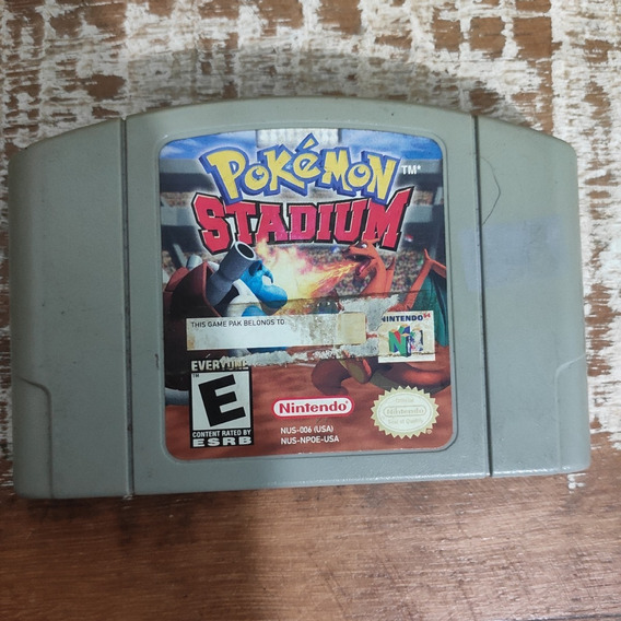Cartucho Pokemon Stadium Nintendo 64