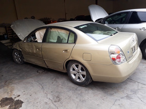 Nissan Altima 2.5 Gle At 2003 Chocado