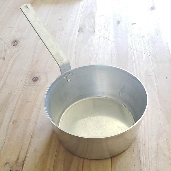 Cacerola Cazo Conico Aluminio Mango 16 Cms Reforzado B2