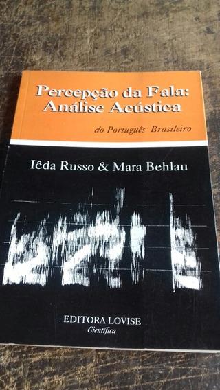 Fonoaudiologia/percepçâo Da Fala/ Análise / Frete Grátis