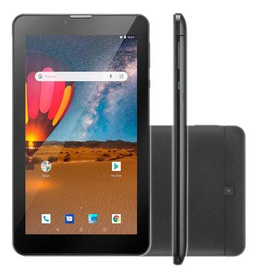 Tablet Multilaser Nb304 M7 Plus 16gb 7 3g Quad Core Preto