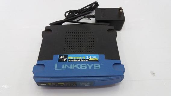 Roteador Cisco Linksys Wireless-g 54mbps 2.4ghz (wrt54g V8)