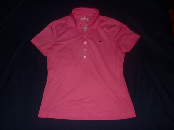 E Chomba Golf Dama Nike Dri Fit Talle L Rosa Art 30784