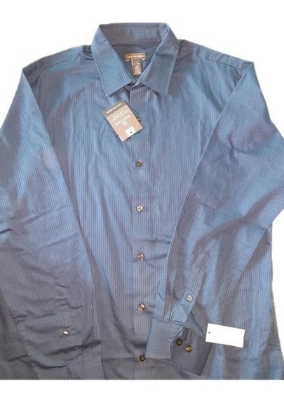 Camisa De Rayas (hombre-talla L)