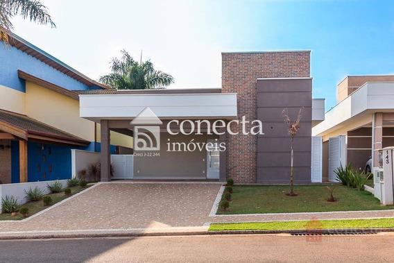 Casa Com 3 Dormitórios À Venda, 190 M² Por R$ 950.000,00 - Condomínio Terras Do Cancioneiro - Paulínia/sp - Ca1179