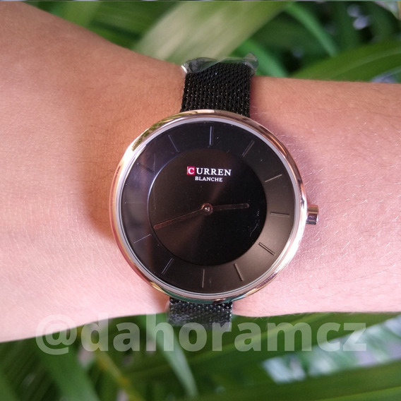 Relógio Feminino - Curren C9030l - Preto - Frete Grátis