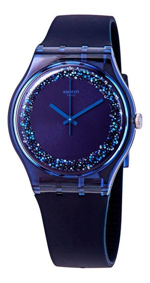 Relógio Swatch Blusparkles Feminino Suon134