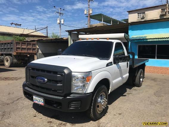 Camiones Plataformas Y Jaula Ganadera Ford F-350