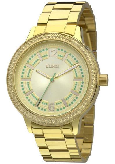 Relógio Feminino Euro Eu2036lzk/4d Barato Original