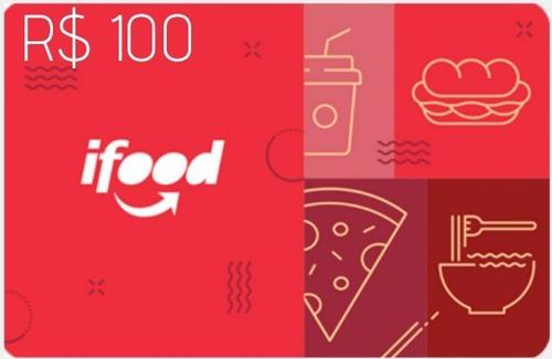Imagem 1 de 1 de Ifood Card 100 Reais Gift Card