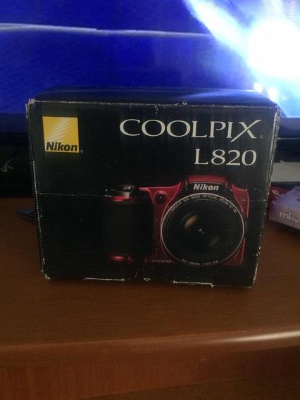 Cámara Nikon L820