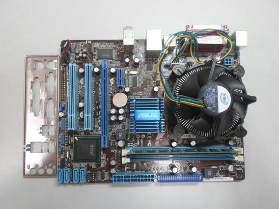 Placa Mãe Asus P5g41t-m Lx2/br + Dual Core E5700 2gb Ddr3