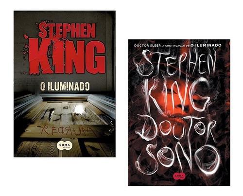 Kit Livros - O Iluminado + Doutor Sono - Stephen King *