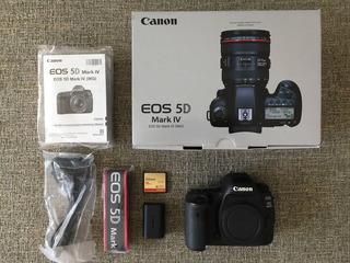 Brand New Canon 5d Mark Iv Full Lens 24-70mm