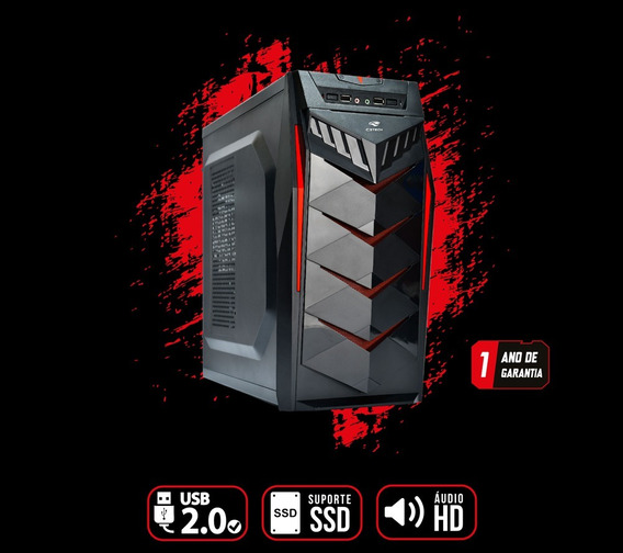 Pc Gamer Core I5 - 8gb Ram - Hd 1tb - Gtx 1050 Ti 4gb