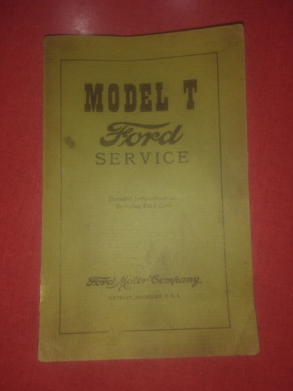 Manual Orig Ford T T