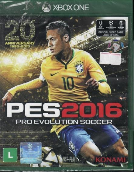 Pro Evolution Soccer Pes 2016 Xbox One Mídia Física Novo