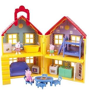 Peppa Pig Casa De Lujo De 40 Cms Pepa Envio Hoyyyyyyyyyyyyyy