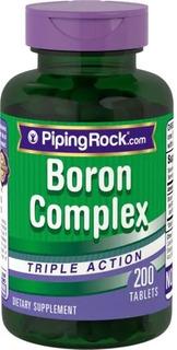 Boro 200 Cápsulas 3 Mg Piping Rock