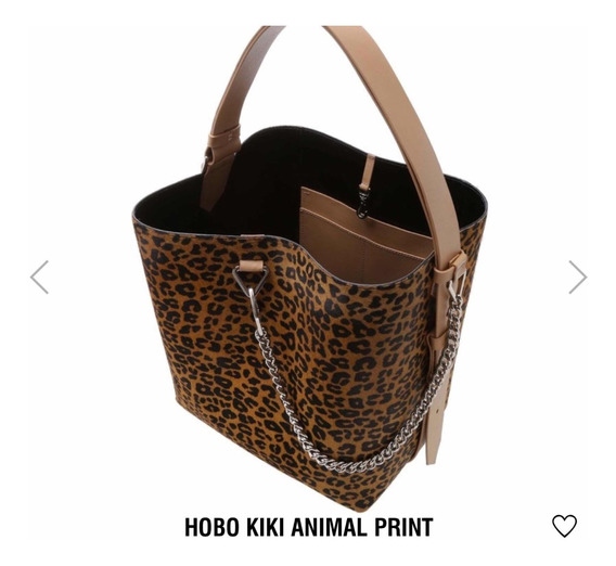 Bolsa Schutz Hobo Kiki Animal Print ( Original)