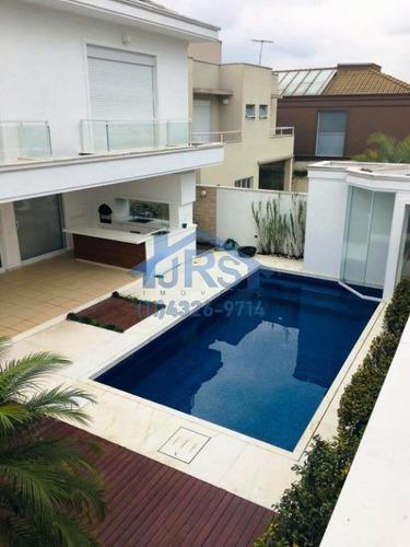 Imagem 1 de 30 de Sobrado Com 4 Dormitórios À Venda, 392 M² Por R$ 2.900.000,00 - Alphaville - Santana De Parnaíba/sp - So1487