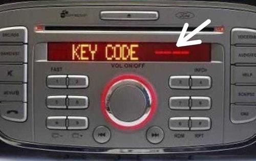 Senha Code Código Recuperação Rádio Ford Focus