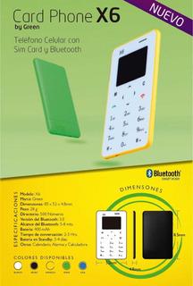 Card Phone X6