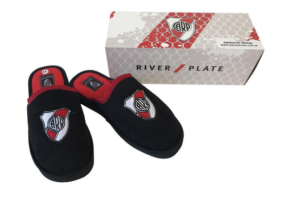 Pantuflas River Plate Producto Oficial