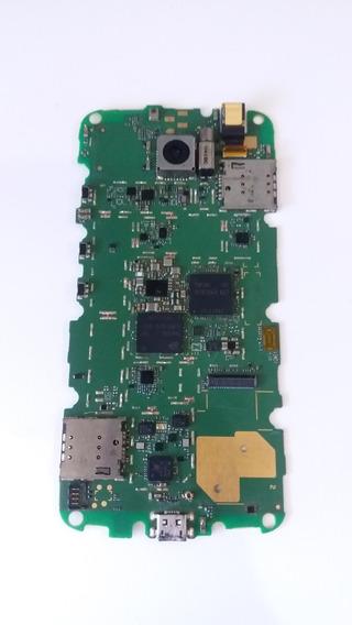 Placa Principal Moto G1 Xt1032 ( Com Defeito ) + Carcaça