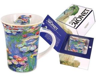 Taza En Porcelana 350 Ml Con Caja Nenúfares Monet