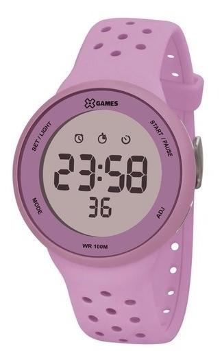 Relógio Feminino Xgames Puls Silicone 100m Ref.xfppd076-lxlx