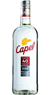 Pisco Capel 40ª Reservado Doble Destilado 750 Cc