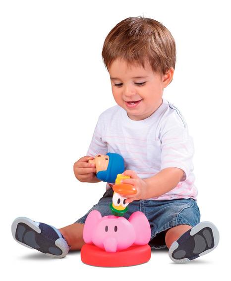 Brinquedos Para Bebês Pocoyo Elly Pato Empilhadinho Cardoso