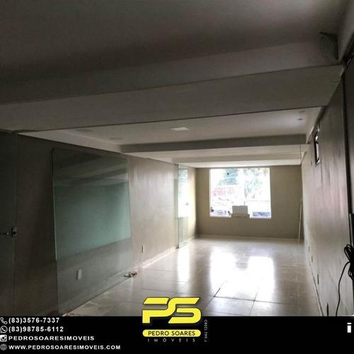 Sala Para Alugar, 40 M² Por R$ 1.100/mês - Centro - João Pessoa/pb - Sa0289