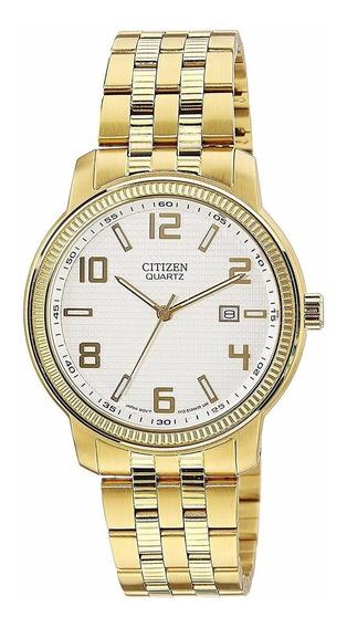 Reloj Citizen Dorado Para Caballero Bi0992-51a