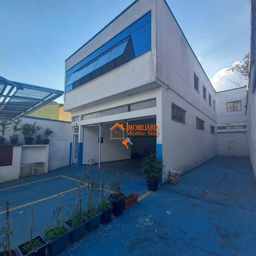 Imagem 1 de 8 de Prédio À Venda, 200 M² Por R$ 1.200.000,00 - Parque Continental - Guarulhos/sp - Pr0017