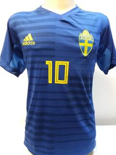 Camisa Da Suécia 2018 Promoçao