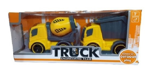 Camiónes De Construccion X2 Para Niños Art. 0011 E.full