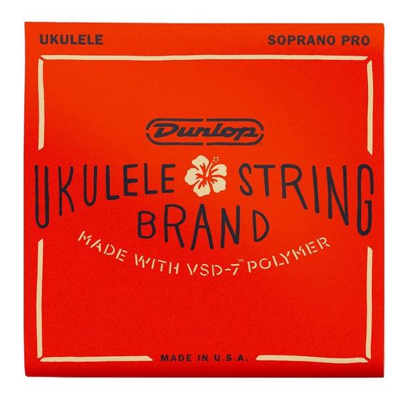 Encordoamento Dunlop Nylon Ukulele Soprano Vsd7 Duq301
