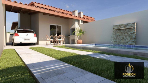 Casa Com 2 Dormitórios À Venda, 77 M² Por R$ 299.000,00 - Jardim Suarão - Itanhaém/sp - Ca1425