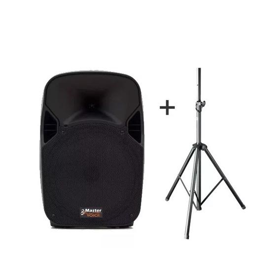 Caixa Ativa 12 Master Voice Bluetooth Usb + Tripe / Loja