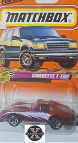 Corvette T-top Super Fast Vermelho 1997 Matchbox