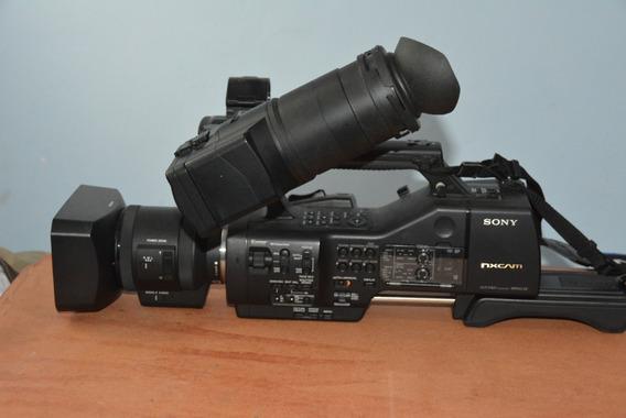 Remato Camara Profesional Sony Nex Ez50u Y Accesorios