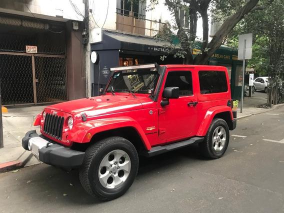 Jeep Wrangler Sahara 3 Puertas 4x4